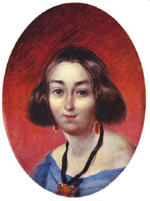 Анна Закревская.(1843). Автор: Т.Шевченко