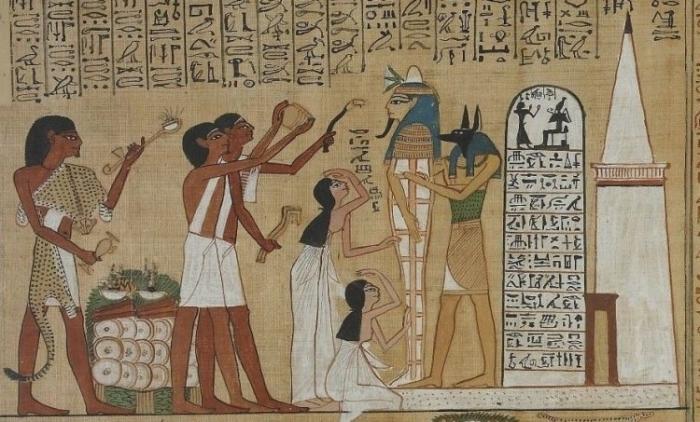 Любовные заклинания были распространены в Древнем Египте.